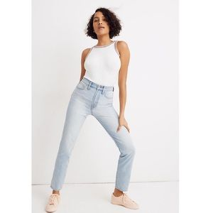 Madewell Curvy Perfect Vintage Jean Fitzgerald Was